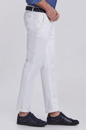 Hemington Erkek Kanvas Beyaz Chino Pantolon 3
