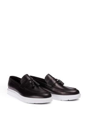 Casual Erkek Siyah Loafer Ayakkabı 2