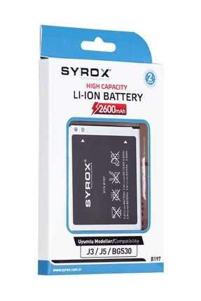 Syrox Samsung J3 / J5 Batarya 1