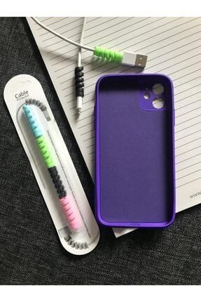 SUPPO Iphone 11 Kamera Korumalı Model, Logolu Lansman Kılıf Kablo Koruyucu 1