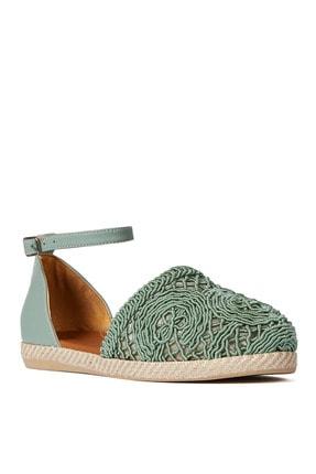 Sole Sisters Düz Sandalet Mint - Magura 2