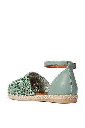 Sole Sisters Düz Sandalet Mint - Magura 3