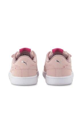 Puma SMASH V2 CNDY V PS Pembe Kız Çocuk Sneaker Ayakkabı 101119308 3