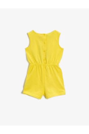 Koton Kız Bebek Pamuklu Tweety Elbise 1