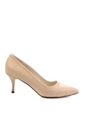 Bambi Nude Kadın Klasik Topuklu Ayakkabı K01842094009 1