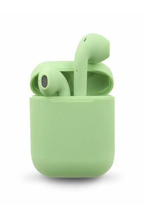 TrkTech Airpods  I12 Yeşil Bluetooth Kulaklık Tüm Telefonlar İle Uyumlu 0