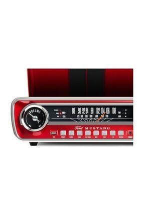 Ion MUSTANG LP 4-in-1 Müzik Sistemi Kırmızı 2