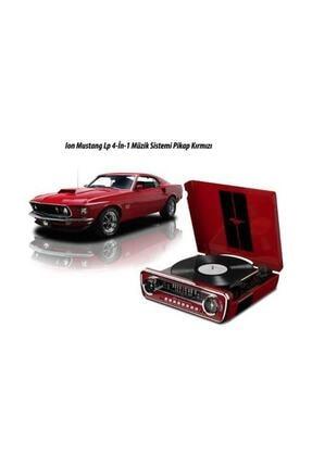 Ion MUSTANG LP 4-in-1 Müzik Sistemi Kırmızı 3