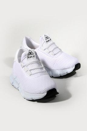 Pukka Collection Unisex Çocuk Beyaz Bağcıksız Spor Spor Ayakkabı 0