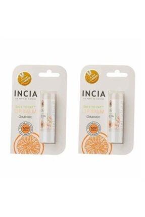 INCIA Incıa Doğal Portakallı Dudak Besleyici 6 Gr Bir Alana Bir Hediye 0