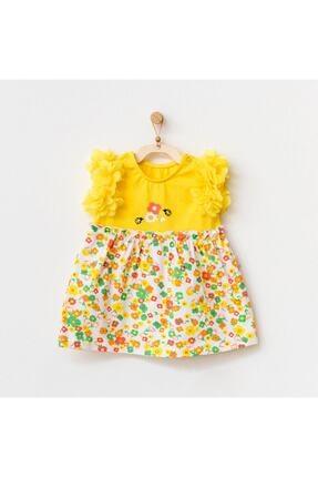 Picture of 21835 Kız Bebek Sarı Elbise