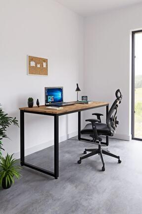 Ceramical Çalışma Masası Bilgisayar Masası Ofis Masası - Atlantik Çam 60 X 140 Cm 0