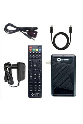 MAGBOX Natural Full Hd-usb Mini Uydu Alıcısı (Kanallar Yüklü + Kumanda + Alıcı + Hdmı Kablo) 1
