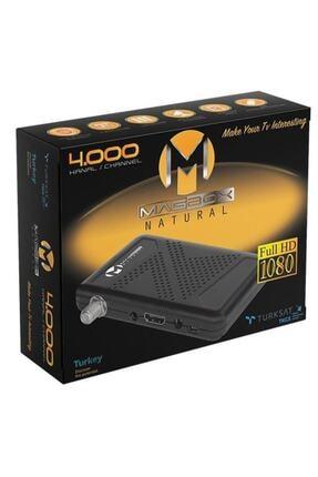 MAGBOX Natural Full Hd-usb Mini Uydu Alıcısı (Kanallar Yüklü + Kumanda + Alıcı + Hdmı Kablo) 3