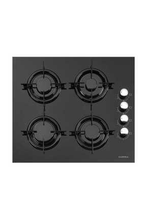 Luxell Kristal İkili Siyah Cam Ankastre Set(Ocak+Davlumbaz) 1