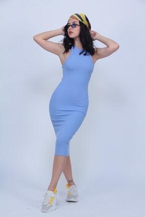 MODAGEN Kadın Kaşkorse Kalem Elbise 0