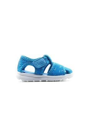 Vicco Unisex Bebek Mavi Sandalet 0