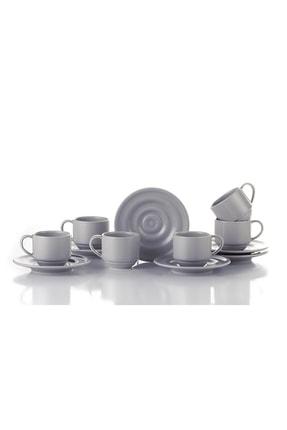 Kütahya Porselen New Tuvana Bej Kahve Takımı 1