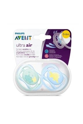 Philips Avent Ultra Air Emzik 0 - 6 Ay Erkek - Desenli 0
