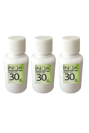 İNOA Boya Açıcı 30 Vol %9 Oksidan 60 Ml * 3 Adet 0
