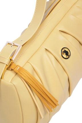 US Polo Assn Sarı Kadın Omuz Çantası Us8395 4
