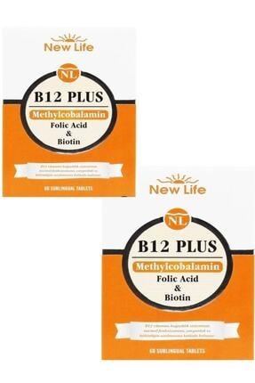 New Life B12 Plus Dilaltı 60 Tablet 2'li Paket 0