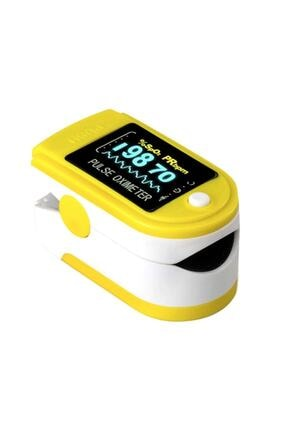 PULSE Parmak Tipi Oksimetre Kan Oksijen Nabız Ölçer Oximeter 2