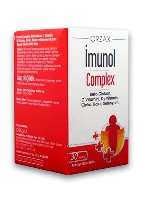 Orzax Imunol Complex 30 Kapsül 0