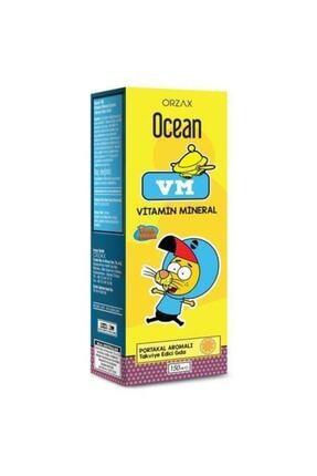 Orzax Ocean Vm Vitamin Mineral Portakal Aromalı 150 Ml 0