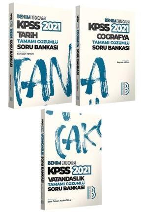 Benim Hocam Yayınları 2021 Kpss Genel Kültür Tamamı Çözümlü Soru Bankası Seti 0