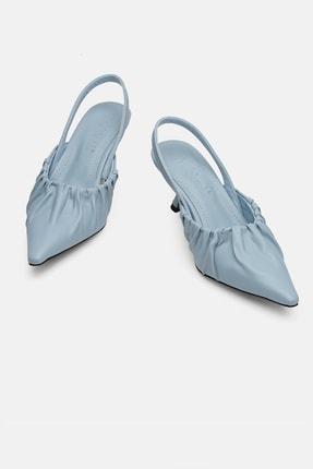 Jorbinol Kadın Mavi Topuklu Ayakkabı 1