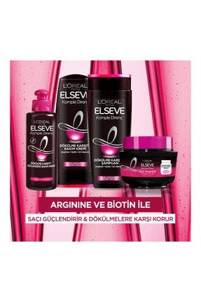 Elseve Zayıf Dökülmeye Eğilimli Saçlar İçin Arginine Saç Kremi 360 ml 4