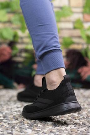 Riccon Unisex Siyah Sneaker 001202 4