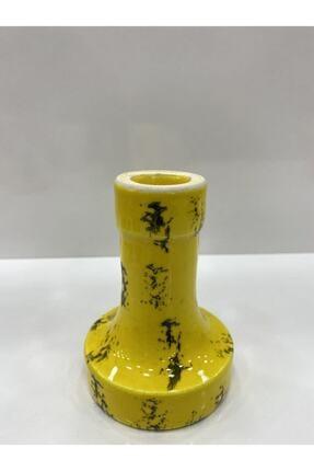 ENSAR NARGİLE Sarı Seramik Lüle 1
