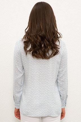 US Polo Assn Mavı Kadın Gömlek G082SZ004.000.1268266 2