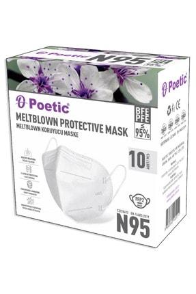 POETİC N95 Koruyucu Maske 40 Adet 123n95poe40 3