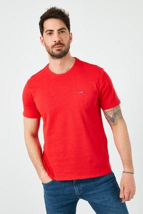 Levi's Erkek Kırmızı Regular Fit Bisiklet Yaka T-Shirt 0