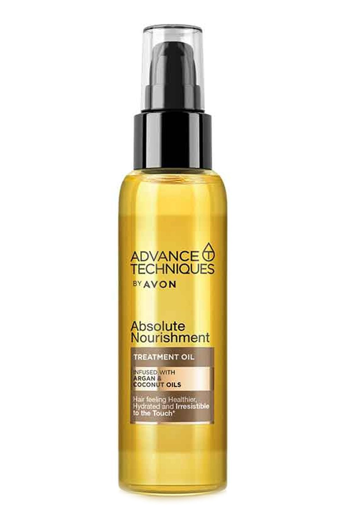 Advance Techniques Argan Ve Hindistan Cevizi Yağı Içeren Saç Bakım Yağı 100 ml