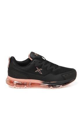 Kinetix Kadın Sneaker Spor Ayakkabı Siyah-narçiçeği Sabion W 1