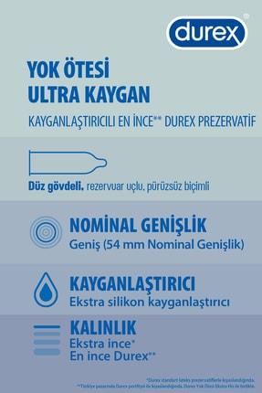 Durex Yok Ötesi Extra His + Ultra Kaygan Prezervatif 40'lı Ekonomik Paket 2