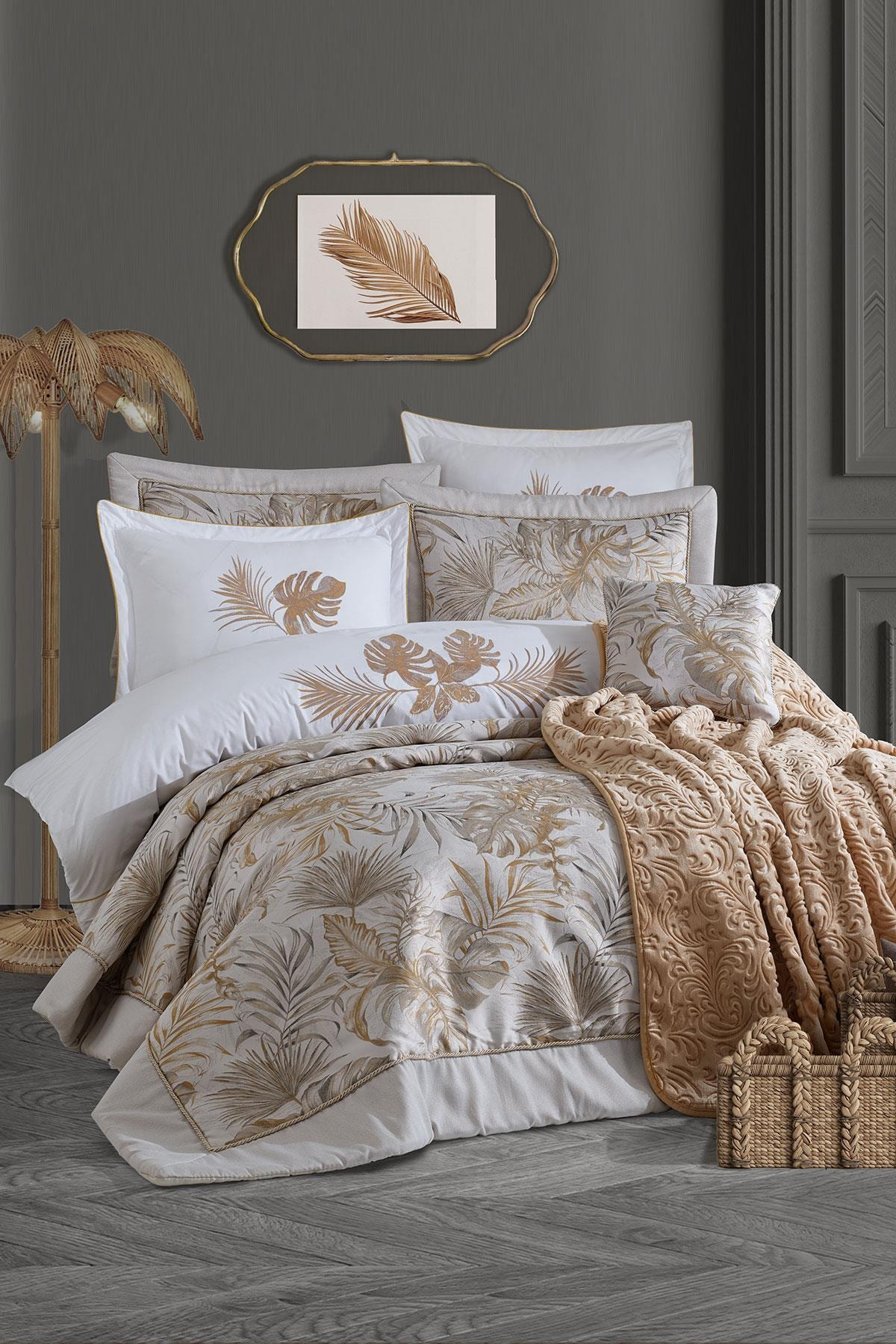 Luxury Çeyiz Seti - Palm Gold