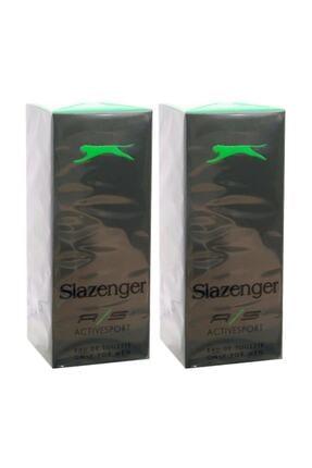 Slazenger Parfüm Active Sport Yeşil Edt 125 Ml X 2 Adet 0