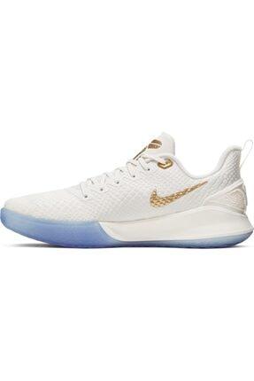 Nike Erkek Beyaz Mamba Focus Basketbol Ayakkabısı 3