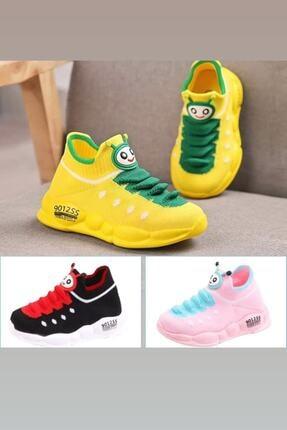 Db Kids Erkek Çocuk Siyah Ortopedik Hafif Yumuşak Spor Ayakkabı B098 2