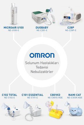 Omron Kompresörlü Nebulizatör Ne-c101 3