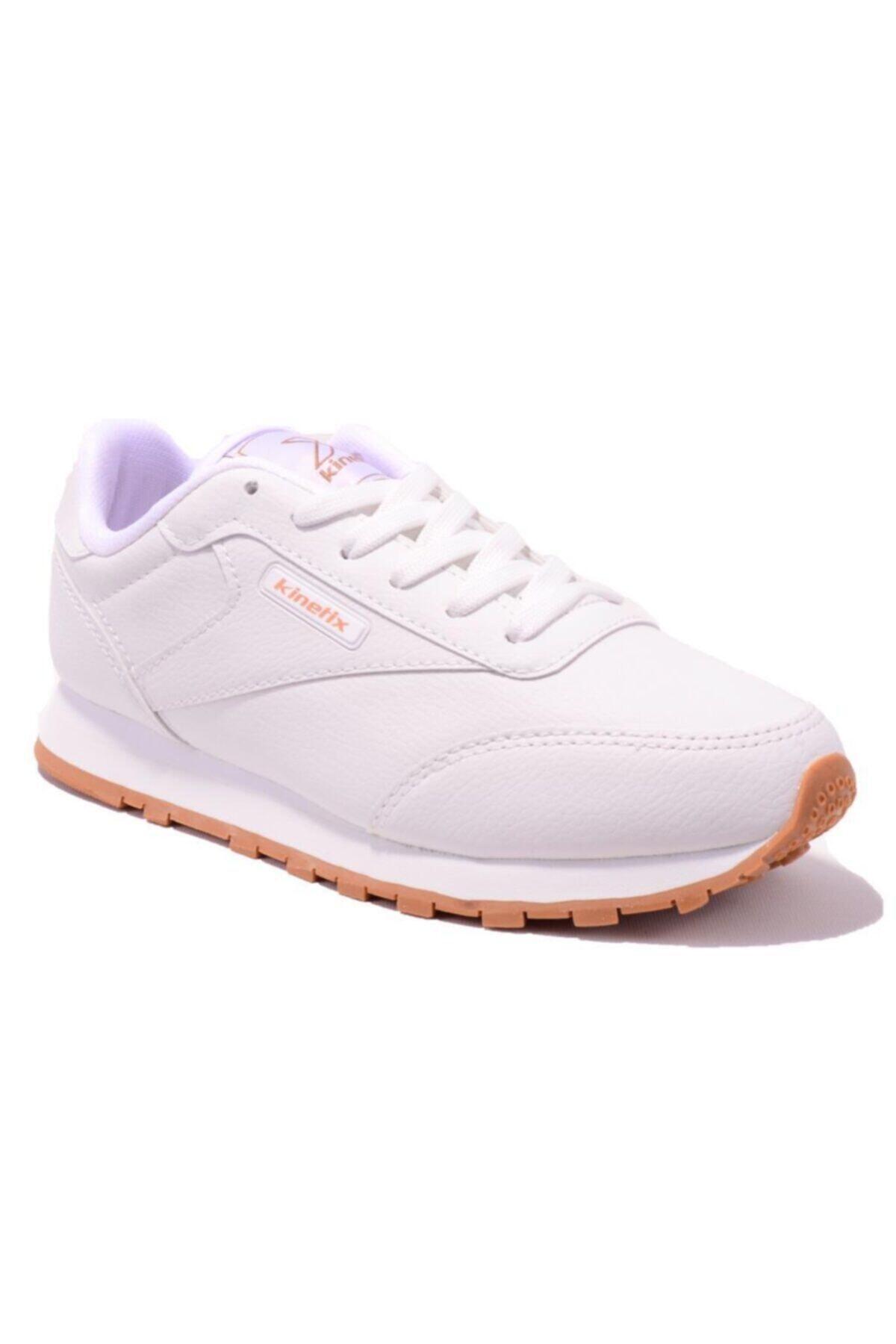 LOWER PU W Beyaz GUM Kadın Sneaker 100310002