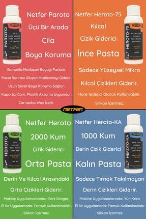 Netfer Heroto-75 Kılcal Çizik Giderici Ince Pasta - 500 Ml 4