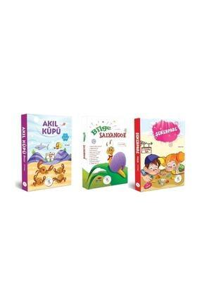 5 Renk Yayınları 1. Sınıf Hikaye Kitabı Seti 30 Kitap Akıl Küpü Şekerpare Bilge Salyangoz 0