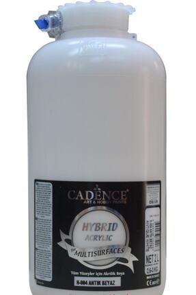 Cadence Boya H-004 Antik Beyaz 2 Litre Multısurface Hybrıd Akr. 0