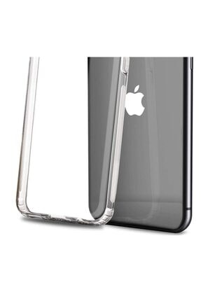 VİNNMOOD Iphone 7 Uyumlu  Antishock Silikon Köşeli Kamera Korumalı Şeffaf Airbag Arka Kapak 2